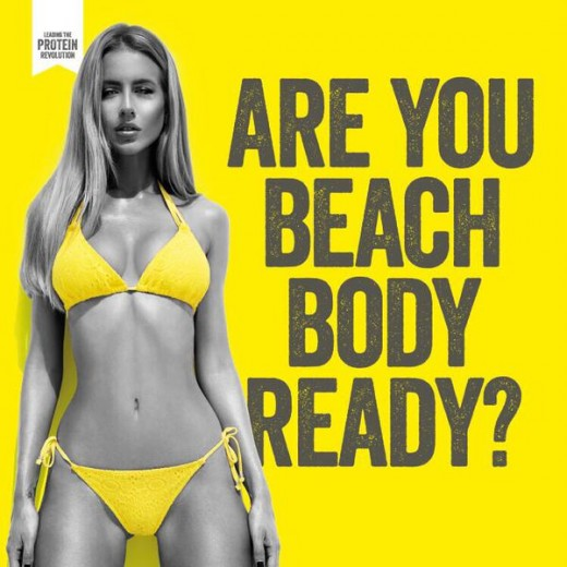 Protein World Trash Branding