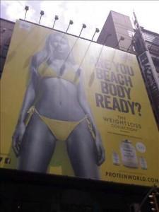 Samma kampanj nu på Times Square