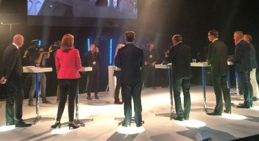 Aftonbladets partiledardebatt i september 2014