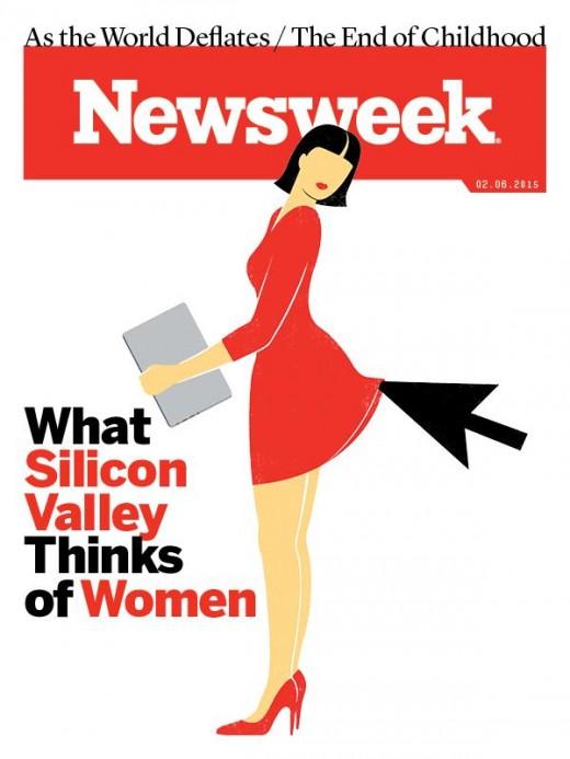 Omslag Newsweek februari 2015