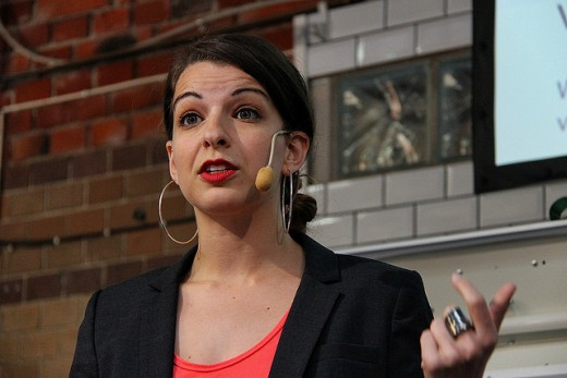 Anita Sarkeesian. Foto: Global Panorama (CC BY-SA 2.0)