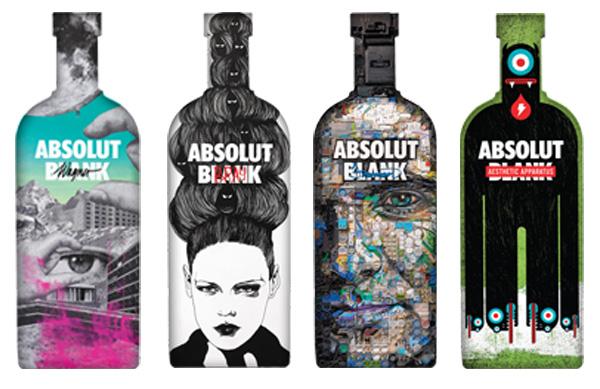 Absolut Vodka kreativitet
