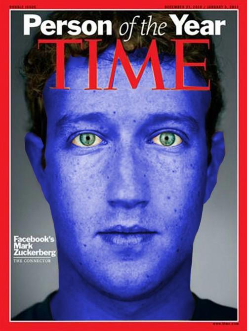 Mark Zuckerberg på Times omslag