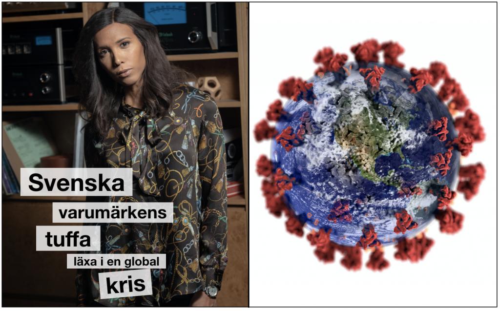 Ricki Petrini om corona och svenska varumärken