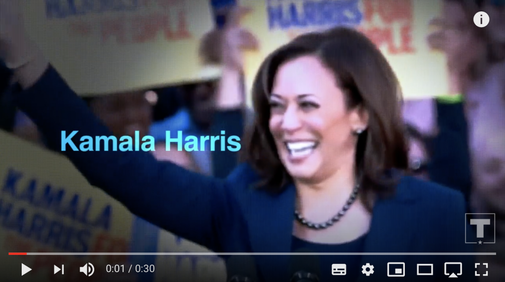Video Slow Joe and Phony Kamala
