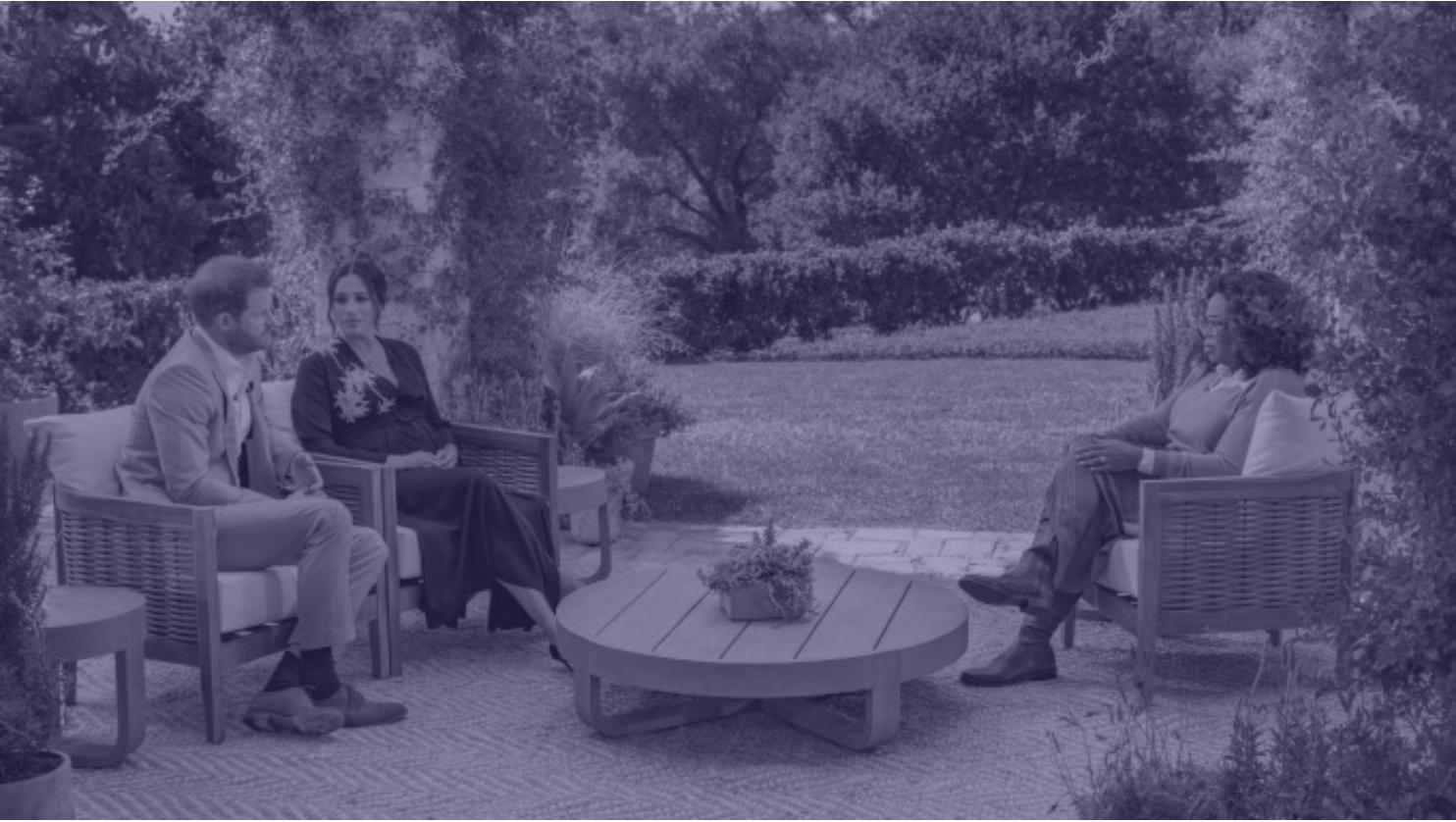 Meghan och Harry intervju med Oprah